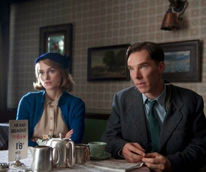 keira knightley, benedict cumberbatch, and the imitation game image