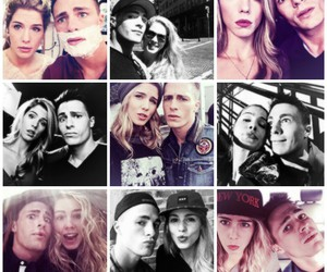 colton haynes and emily bett image