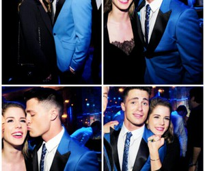 colton haynes and emily bett rickards image