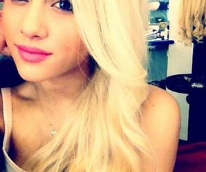 ariana grande, blonde, and ariana image