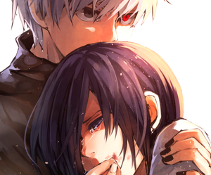 anime, tokyo ghoul, and touka image