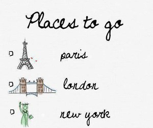 london, paris, and place image