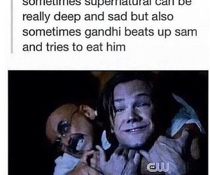 crack, sam winchester, and funny image