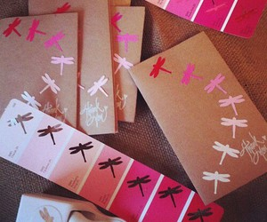 pink, diy, and dragonfly image