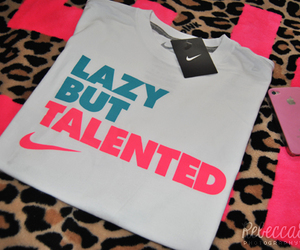 nike, Lazy, and pink image