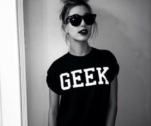 geek, girl, and hailey baldwin image