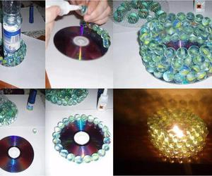 diy, cd, and candle image