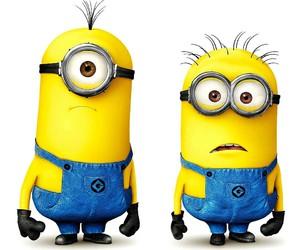 yellow, funny, and minon image