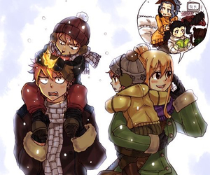 anime, fairytail, and family image