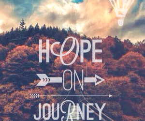 background, hope, and journey image