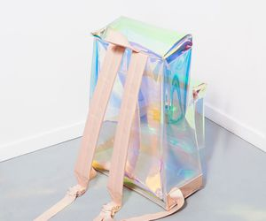 fashion, bag, and holographic image
