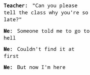 school, teacher, and funny image
