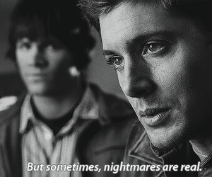 supernatural, nightmare, and dean winchester image