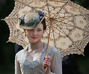 girl, hat, and victorian image