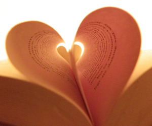 book, Dream, and heart image
