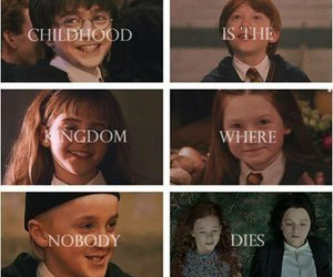 harry potter, childhood, and draco malfoy image