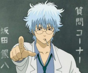 gintama and sakata gintoki image