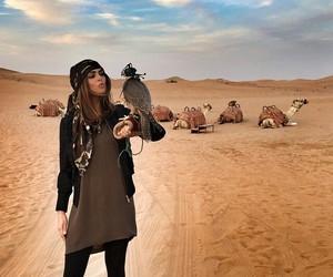 bedouin, Dubai, and girl image
