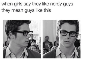 nerd, dylan o'brien, and boy image