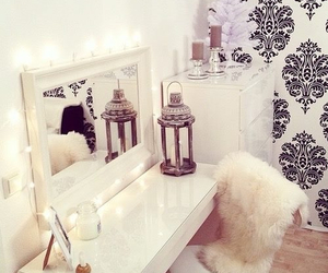 room, girly, and white image