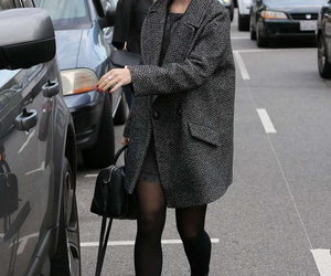 lily collins, fashion, and outfit image