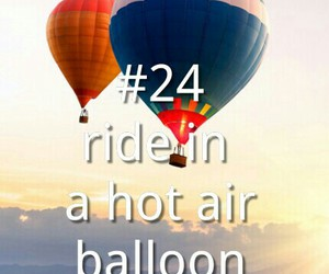 air, balloon, and clouds image