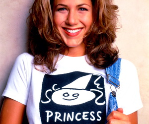 Jennifer Aniston, friends, and 90s image