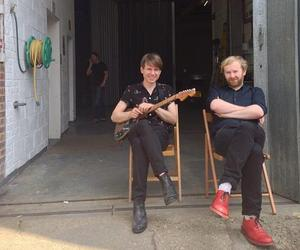 alex kapranos and bob hardy image