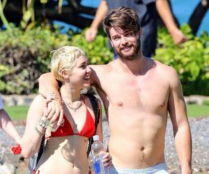 miley cyrus, patley, and patrick schwarzenegger image
