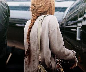 miley cyrus, hair, and braid image