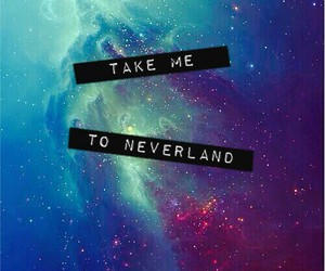 neverland, background, and wallpaper image