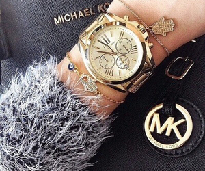 watch, Michael Kors, and mk image
