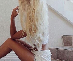 blond, chic, and girl image