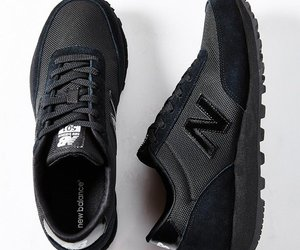 black, new balance, and shoes image