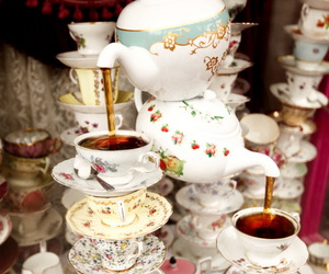 harry potter, tea, and teacup image