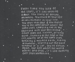 quotes, creative, and stars image