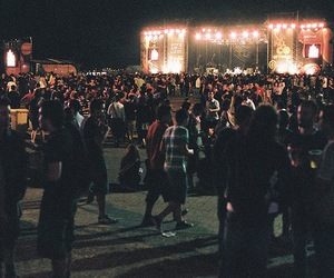 concert, people, and festival image