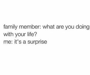 funny, family, and surprise image