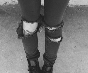 grunge, black, and jeans image