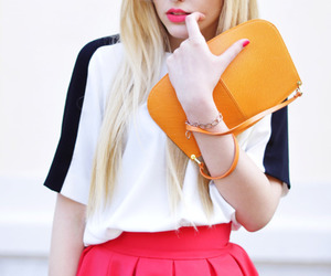 blonde, colours, and nails image