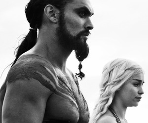 game of thrones, got, and khal drogo image