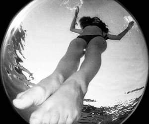 bw, lomo, and fisheye image