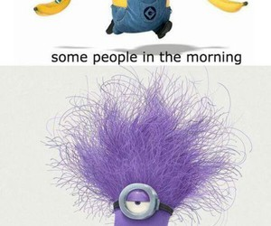 minions, funny, and morning image
