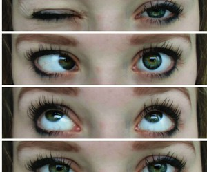 beauty, crazy, and eye image