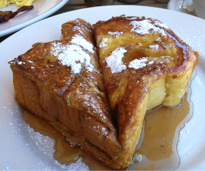 food, french toast, and breakfast image