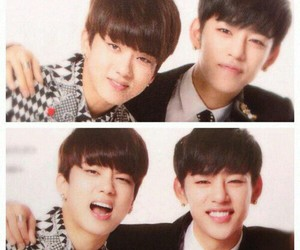 b.a.p, youngjae, and daejae image