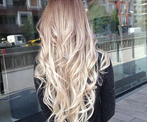 blonde, pretty, and curls image