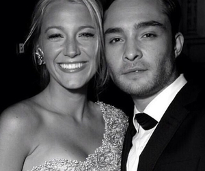 gossip girl, ed westwick, and blake lively image