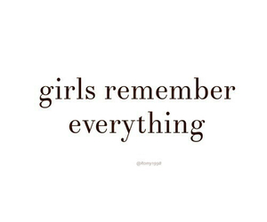 girl and remember image