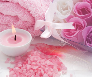 pink, cute, and candle image